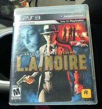 L.A. Noire (Sony PlayStation 3) Ps3 Game Complete W/ Badge Pursuit Negatives