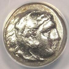 Alexander the Great III AR Drachm Coin 323-317 BC - Certified ANACS VF30!