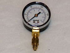 Oil Burner Fuel Pressure Test Gauge for Webster & Danfoss Pumps with adapter