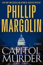 Capitol Murder: A Novel of Suspense Margolin, Phillip Hardcover