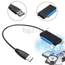 "USB 3.0 to SATA ATA Converter Adapter Cable for 2.5"" Hard Disk Driver HDD SSD"