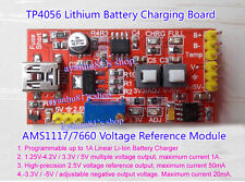 USB Lithium Battery Charger AMS1117/7660 Voltage Reference Multiple Power Module
