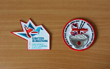 2 Badges: 23rd World Scout Jamboree 2015 (Japan) UK & Southeast Region IST/JPT