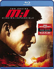 Mission: Impossible (Blu-ray Disc) Tom Cruise great action movie