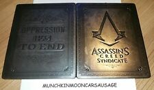 Nouveau assassins creed syndicate big ben steelbook no jeu PS4 xbox one G2 t