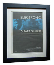 ELECTRONIC+Disappointed+POSTER+AD+ORIGINAL 1992+QUALITY FRAMED+FAST GLOBAL SHIP