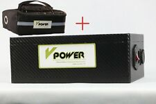48v 20ah Lithium-ion Battery Bicycle Electric Bike Rechargeable Battery Pack Bag
