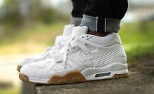 NIKE AIR TRAINER 3 III WHITE LIGHT BROWN GUM VNDS Sz 10 (705426-100 Free Ship