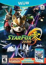 Wii U StarFox Zero - Wii U ( BONUS GAME)  Brand New In Stock