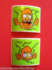 On Sale... THE SIMPSONS By DATA EAST ORIGINAL NOS PINBALL MACHINE SPINNER DECALS