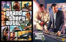 *RARE* GTA V 5 Grand Theft Auto V 5  poster 2 sides New