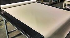 """5 YARDS LINEN FAUX LEATHER AUTO UPHOLSTERY FABRIC VINYL 54""""W PLEATHER"""