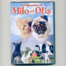 The Adventures of Milo and Otis, G movie, new DVD Dudley Moore tabby cat pug dog