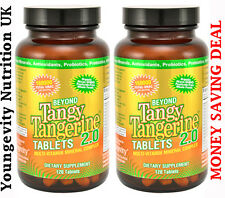 Beyond Tangy Tangerine 2.0 Tablets: Youngevity organic multi vitamin 2 PACK DEAL