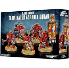 Space Marines BLOOD ANGELS TERMINATOR SQUAD Games Workshop Warhammer 40K-Lo COST