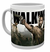 The Walking Dead - Ceramic Coffee Mug / Cup (Rick, Daryl & Michonne)