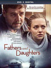Fathers and Daughters (DVD, 2016) No Digital Copy-Russell Crowe