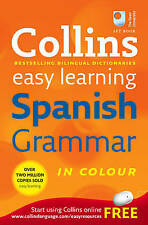 Collins Easy Learning Spanish Grammar by HarperCollins Publishers (Paperback)
