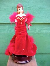 "Barbie ""PORCELAIN MUSIC BOX FIGURINE"" - SCARLETT O'HARA"" LE#2953 -"
