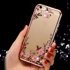 Crystal Transparent Clear Plating Bumper Soft TPU Case Cover For iPhone 6 6S