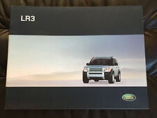 2006 Land Rover LR3 Original Dealer Sales Brochure Catalog Prospekt SE HSE