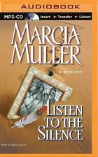 Sharon Mccone: Listen to the Silence 21 by Marcia Muller (2015, MP3 CD,...