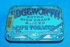 Old Edgeworth Pipe Tobacco Tin Vintage Collectible Collector Larus Box Antique