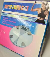 BodyFat & Water Scale - Maximum/Minimum Capacity 2.5 -150 Kg convertible