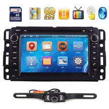 "7"" 2Din Stereo Car FM Radio CD DVD Player GPS Navigation BT TV For Chevrolet+CAM"