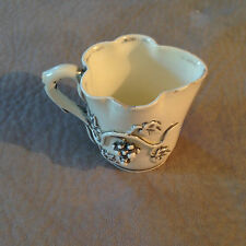 1839/1909, SMALL CREAMER FROM FAIENCE DE LANGEAIS, CHARLES DE BOISSIMON !!!