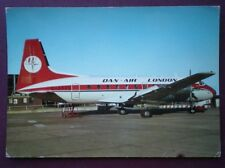 POSTCARD DAN-AIR HAWKER SIDDELEY 748 PROP JET