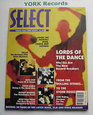 SELECT MAGAZINE - August 1990 - Lords of the Dance / The Rolling Stones / Yello