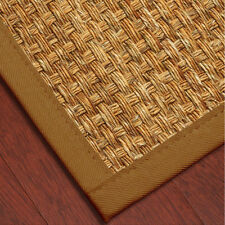 Mendoza Mountain Grass Hand Crafted by Artisan Rug Maker 3'x5' Cotton Border