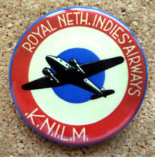 1930 Netherlands Airlines Design Button Pin Back Modernist Mid-Century Deco #9