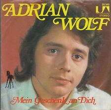 "7"" Adrian Wolf Sing das Lied der Liebe (Coverversion) 70`s United Artists"