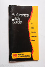 Kodak Reference Data Guide Professional Products 1993 PG-118 - USED GD 11