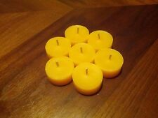 Tealight Candle REFILLS in Bulk of 60: 100% Pure Beeswax