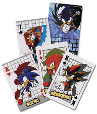 Sonic Poker Playing Cards Anime Manga Game NEW