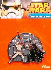 Star Wars Luke Skywalker Darth Vader Lightsaber Duel Enamel Limited Edition Pin