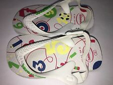 Havaianas Baby Size 6 C Numbers pre-owned