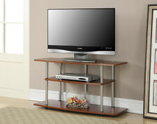 Convenience Concepts 3 Tier Wide TV Stand, Cherry, Cherry 131031CH TV Stand NEW