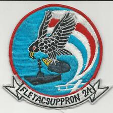 VR-24  (US Navy Squadron Patch) (large) (from squadron 1975)