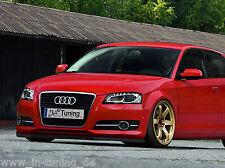 Spoilerschwert Frontspoilerlippe Cuplippe aus ABS Audi A3 8PA Sportback mit ABE