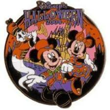 Mickey, Minnie & Ghost HALLOWEEN 2004 TOYKO Disney PIN TDL #33036