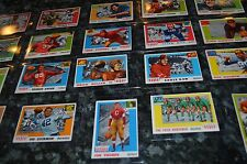 20 1955 TOPPS ALL AMERICAN FOOTBALL CARDS OVERALL EX! JIM THORPE,4 HORSEMEN,ETC!
