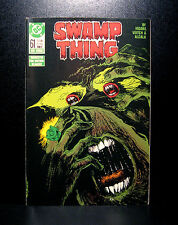 COMICS: DC: Saga of the Swamp Thing #61 (1980s) - RARE (alan moore/flash/batman)