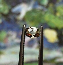 6x4mm Oval Checkerboard Genuine Color Change Zultanite 0.48 carats, EC=Eye Clean