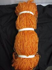 Orange Soccer Goalie Goal Net Netting 7' x 19' Feet HY1