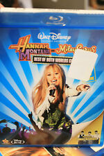 Hannah Montana & Miley Cyrus Best of Both Worlds 3D Concert Blu-ray new/sealed