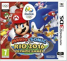 New Super Mario Bros and Sonic at the Rio Olympic Games Nintendo 3DS New UK Rel